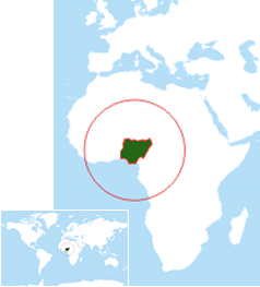 Über Nigeria - Where is nigeria located